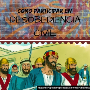 Cómo participar en desobediencia civil